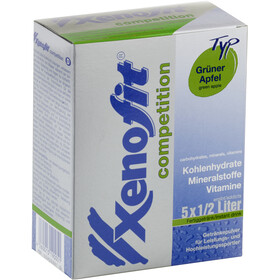 Xenofit Competition Drink 5x42g Green Apple